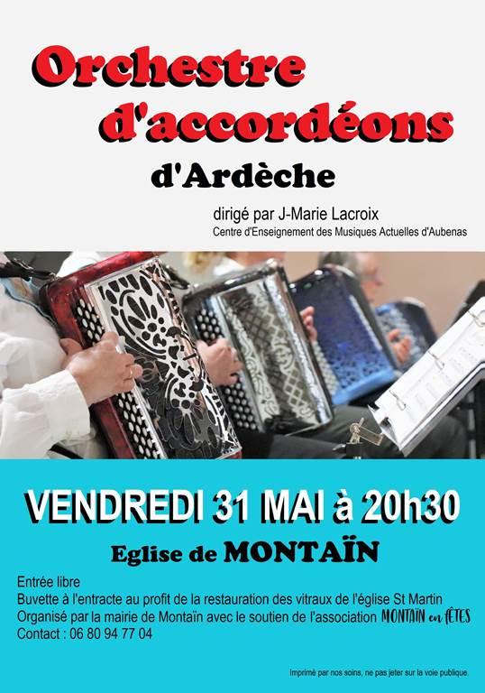 Orchestre d'accordéons d'Ardèche