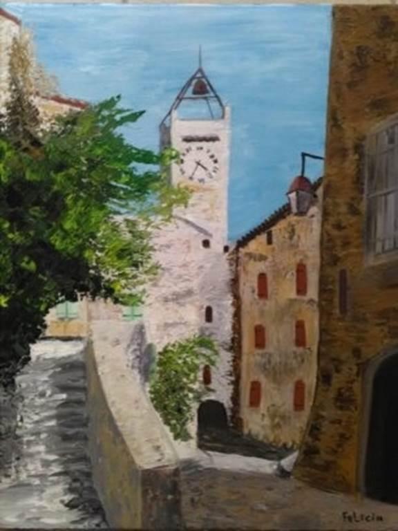 Exposition-de-peinture-:-Félicia-Butel