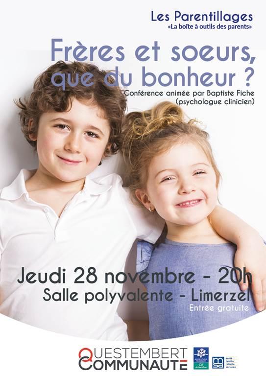 Conférence fratrie - Limerzel
