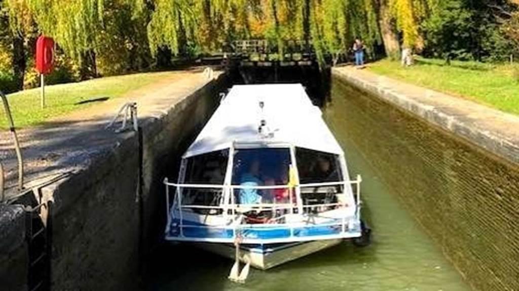 Promenade en bateau sur le Canal à 15h45 tous les jours