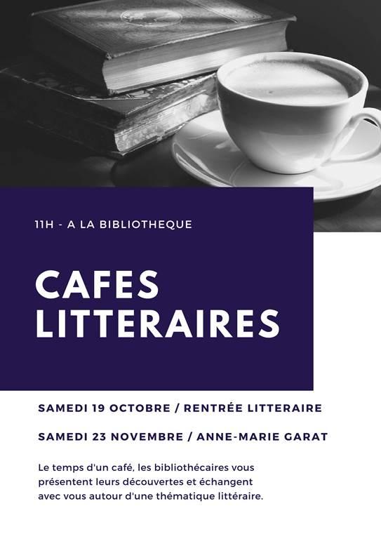 Cafés littéraires