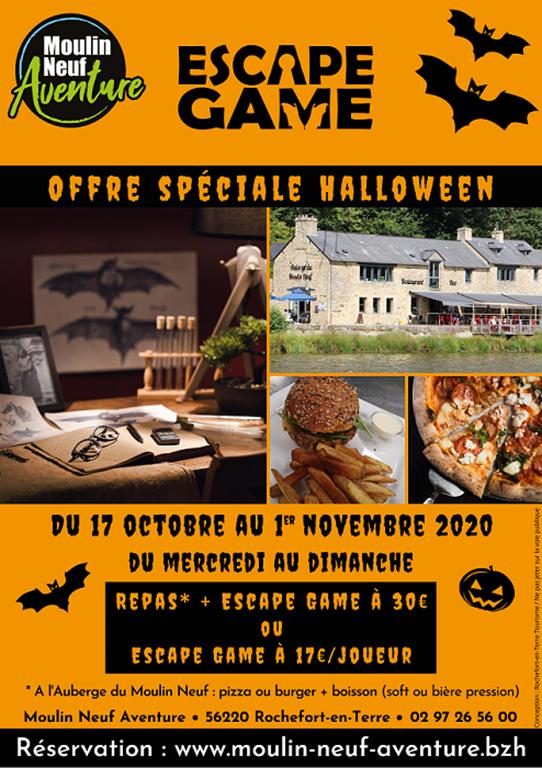 Halloween Moulin Neuf Aventure - Rochefort-en-Terre