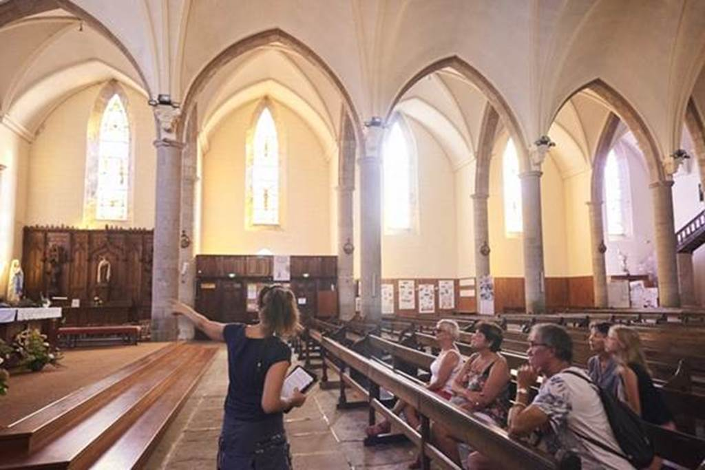 Visite guidée de Questembert - L'église - Morbihan - Bretagne Sud (Crédit photo : R.BURBANT )