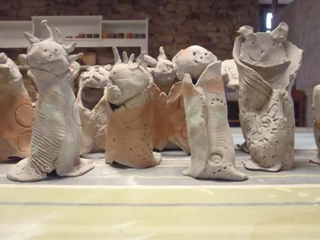 Atelier poterie - Lauzach