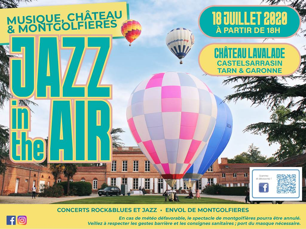 Jazz In The Air au Château Lavalade