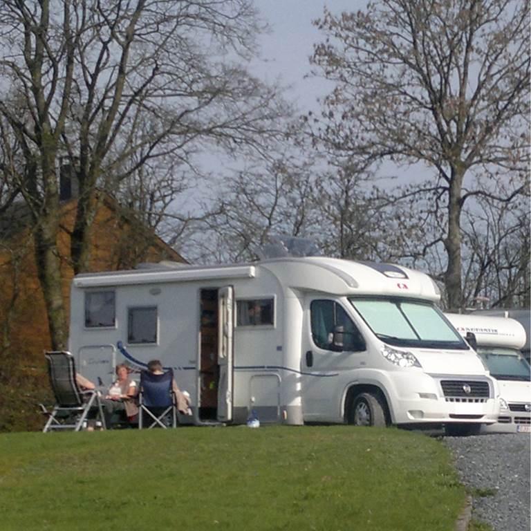 Camping Car à la Ferme