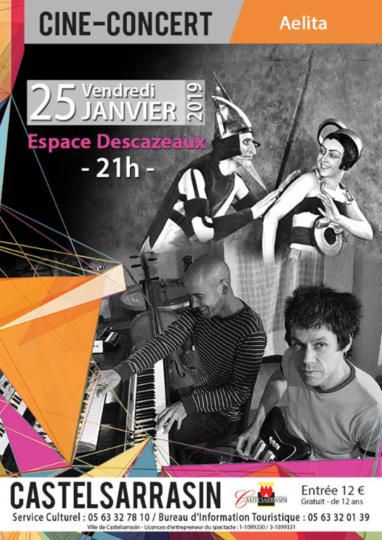 Ciné-concert AELITA