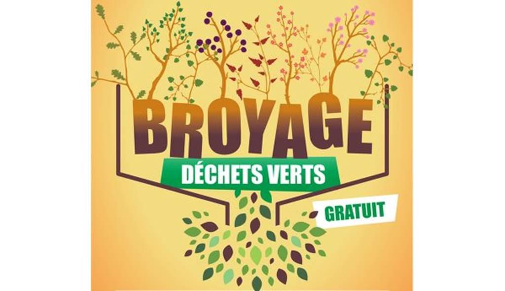 Distribution gratuite de broyat pour votre jardin