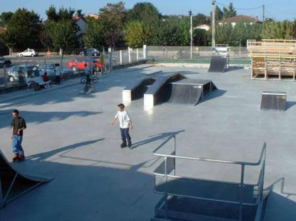 Skate park à Castelsarrasin