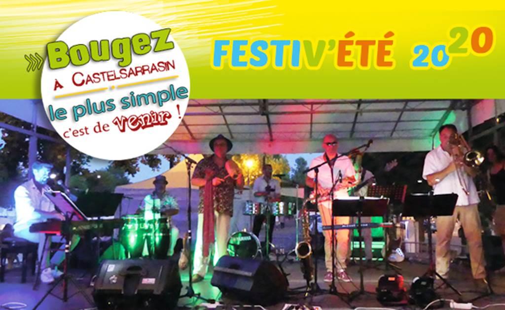 Marché nocturne et concert avec le groupe « Salsa Parrilla »