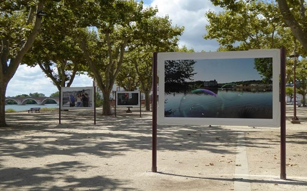 Exposition en plein air
