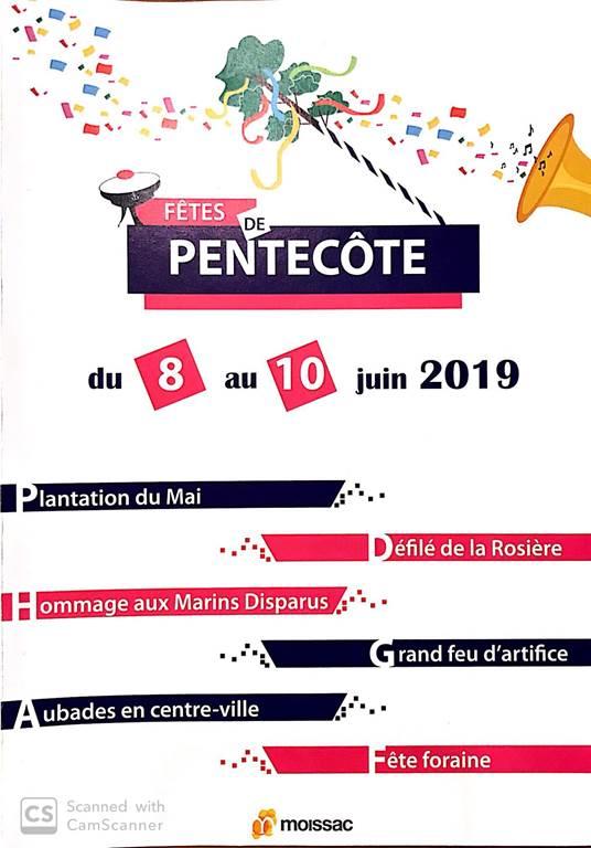 Fêtes de Pentecôte