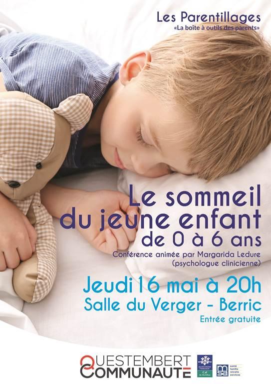 Le sommeil chez le jeune enfant 0-6 ans