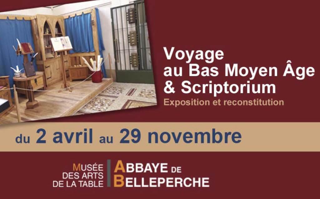 Voyage au Bas Moyen Âge & Scriptorium