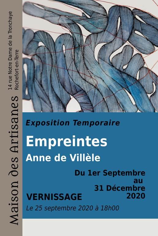 Exposition Anne De Villèle - Rochefort-en-Terre