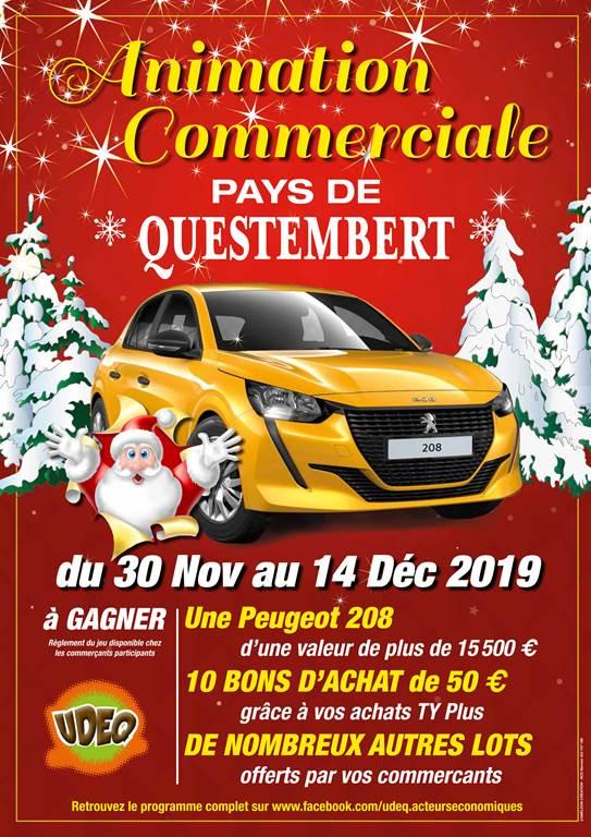 Quizaine commerciale UDEQ Questembert - Morbihan