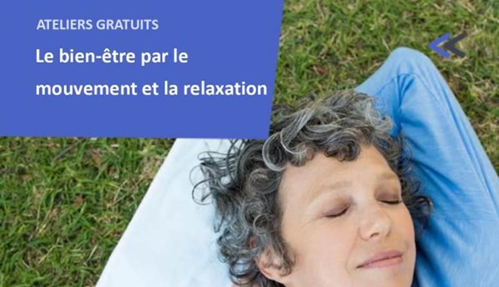 Atelier – bien-être et relaxation - 14H à 16H
