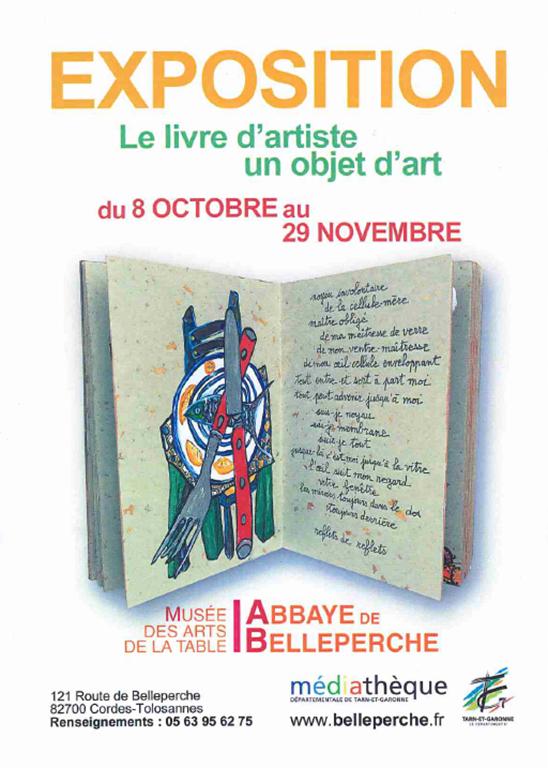 Exposition : Livre d'artiste un objet d'art