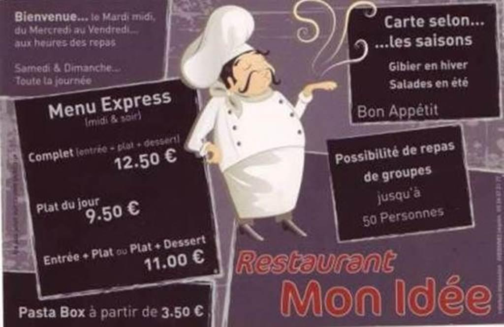 Restaurant Le Mon Idée, Auvillers-les-Forges
