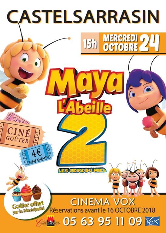 Ciné-goûter Maya l'Abeille 2