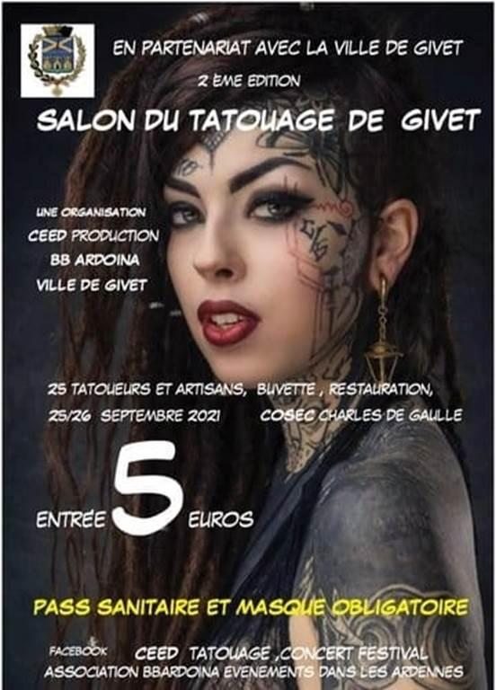 Salon du tatouage de Givet