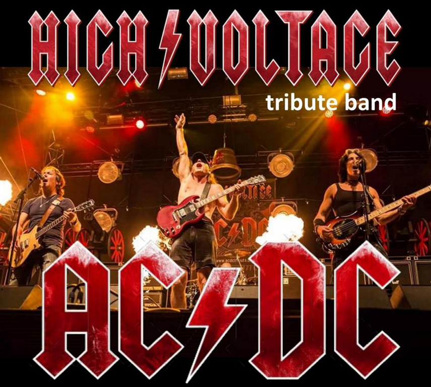 REPORT AU 16/10 - Spectacle : AC/DC Tribute by High Voltage