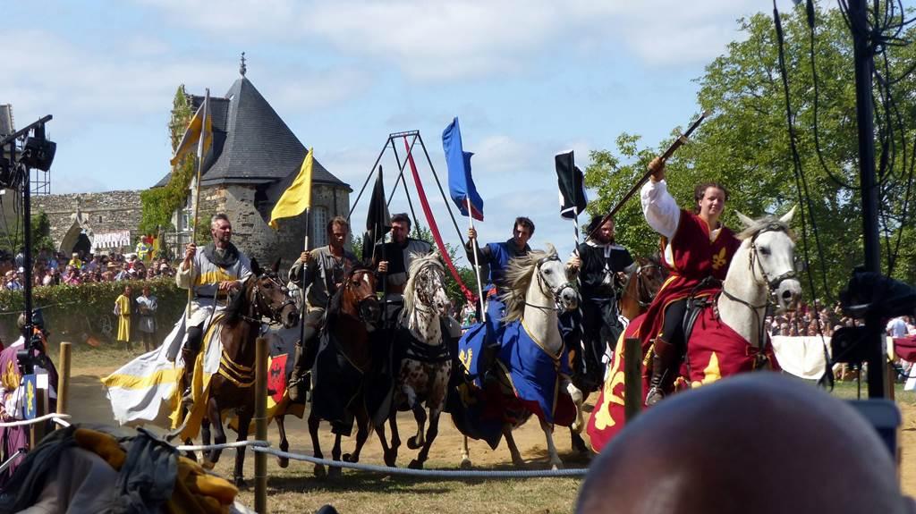 Les Médiévales au château - Rochefort-en-Terre