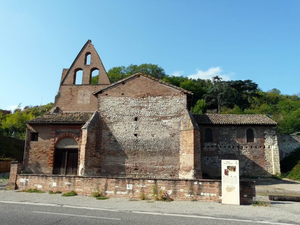 Les bains gallo-romains de Saint-Martin