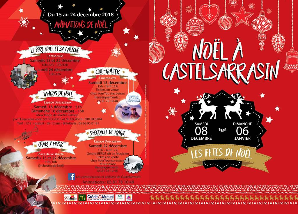 Animations de Noël Castelsarrasin