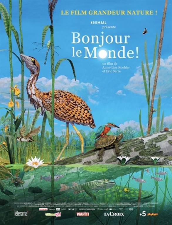 Ciné junior Bonjour le monde (Crédit photo : Iris cinéma )