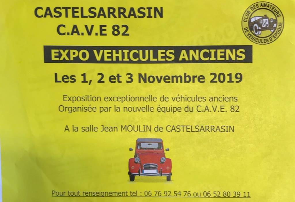 Expo véhicules anciens