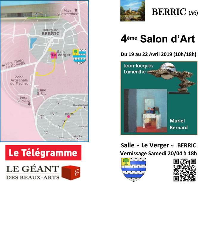 Salon d'art - Berric