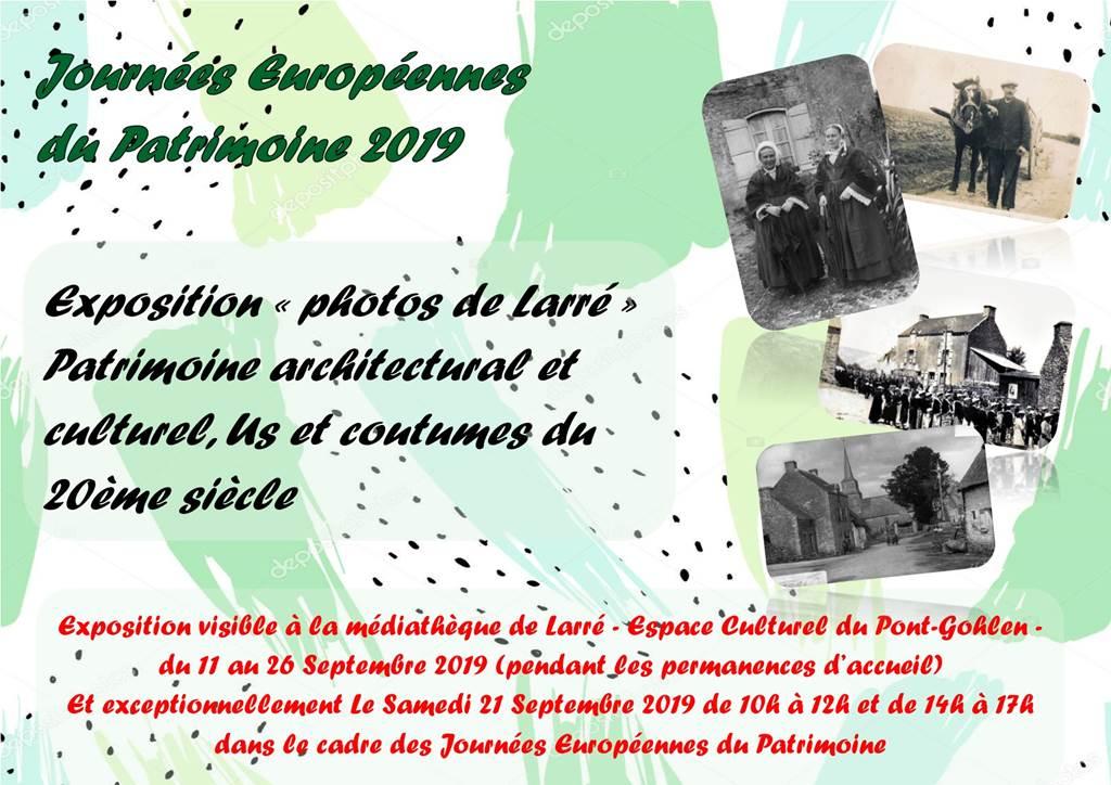 Expo photos patrimoine - Larré