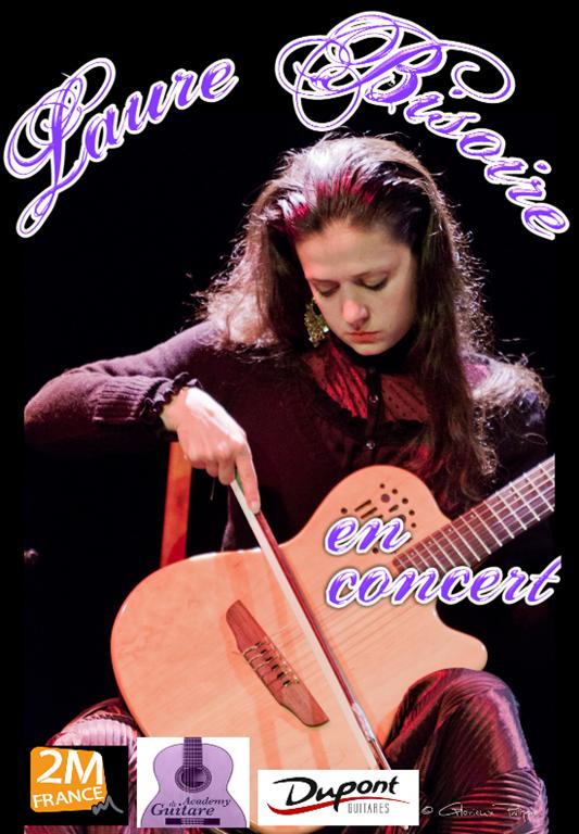 Concert de la guitariste Laure Bisoire - 21h