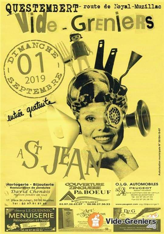 Vide grenier St Jean - Questembert