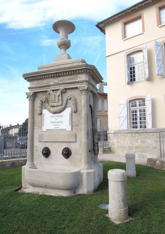Visites guidées de la Fontaine du Thouron