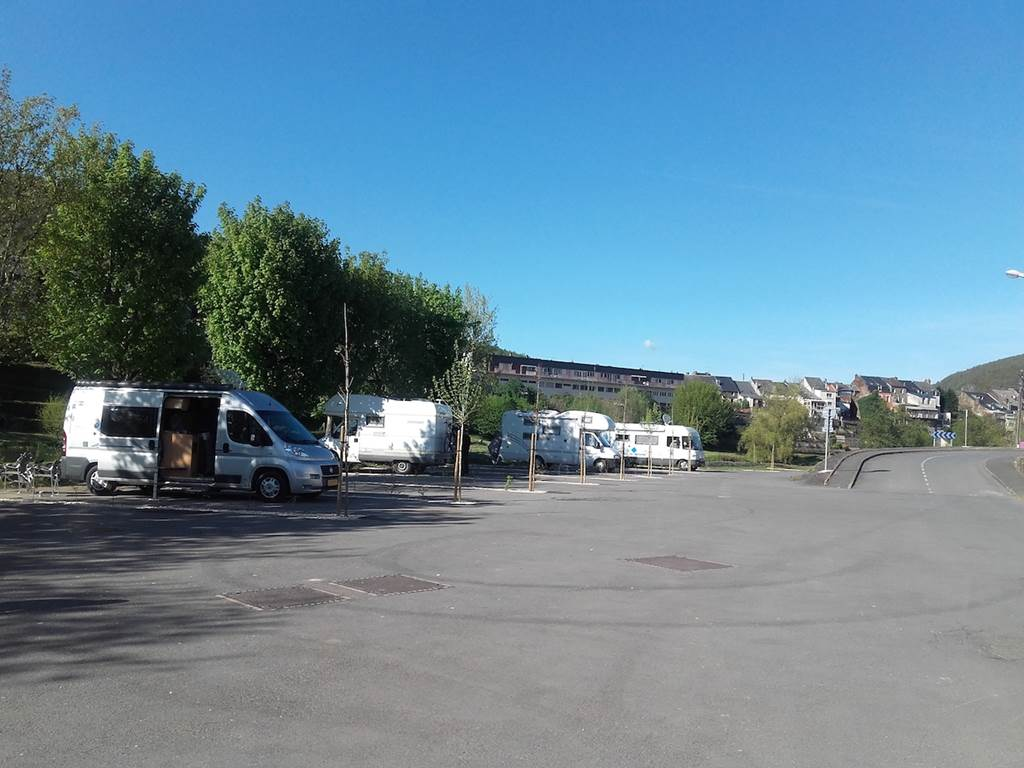 Camping-car area - Revin-Ardenne-France