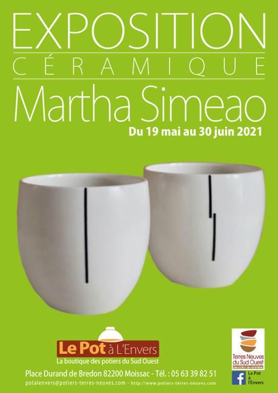 Exposition céramique: MARTHA SIMEAO