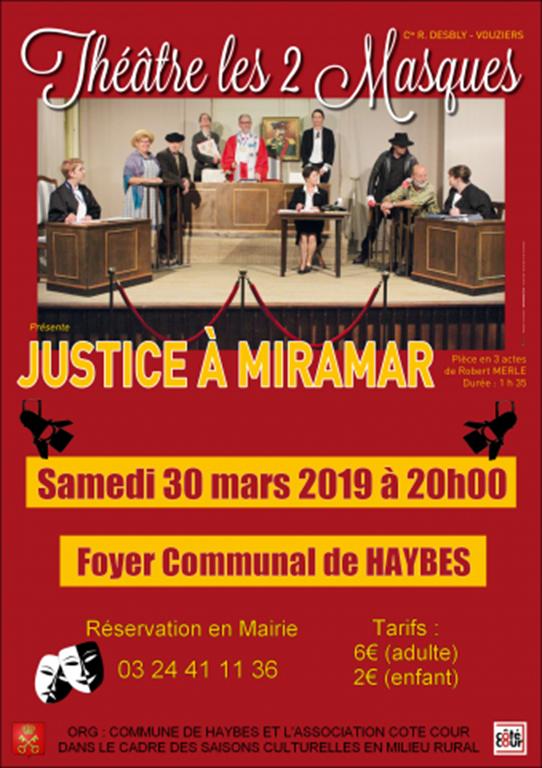 Justice à Miramar
