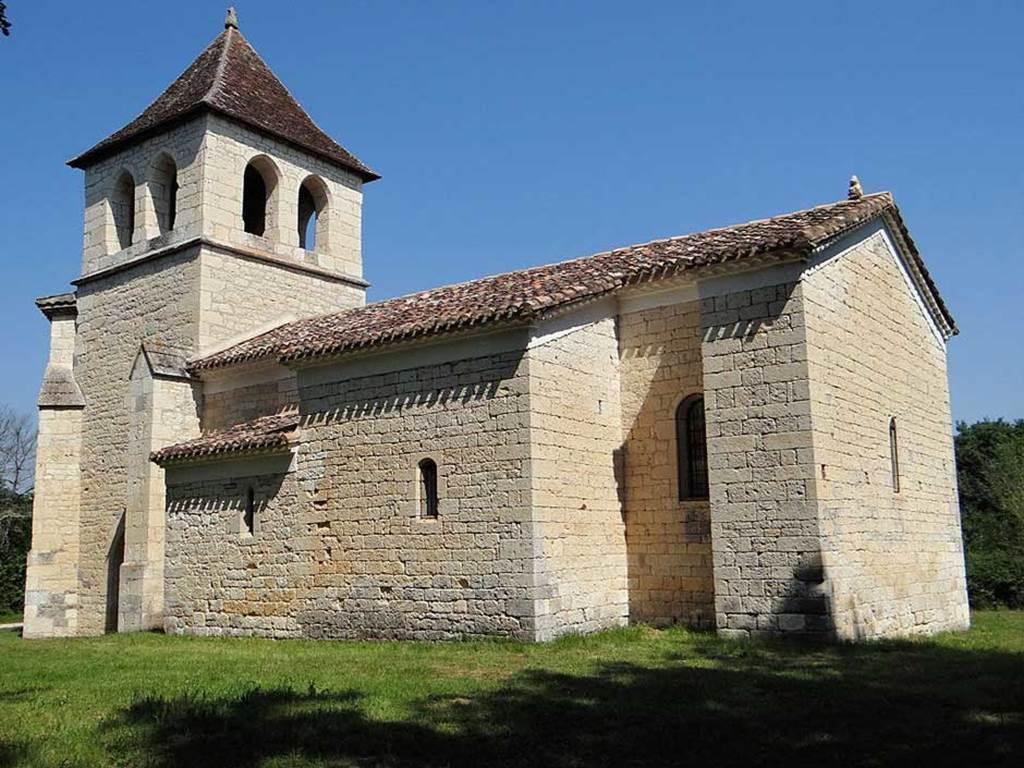 Visite de l'Eglise de Saux et découverte de ses peintures murales