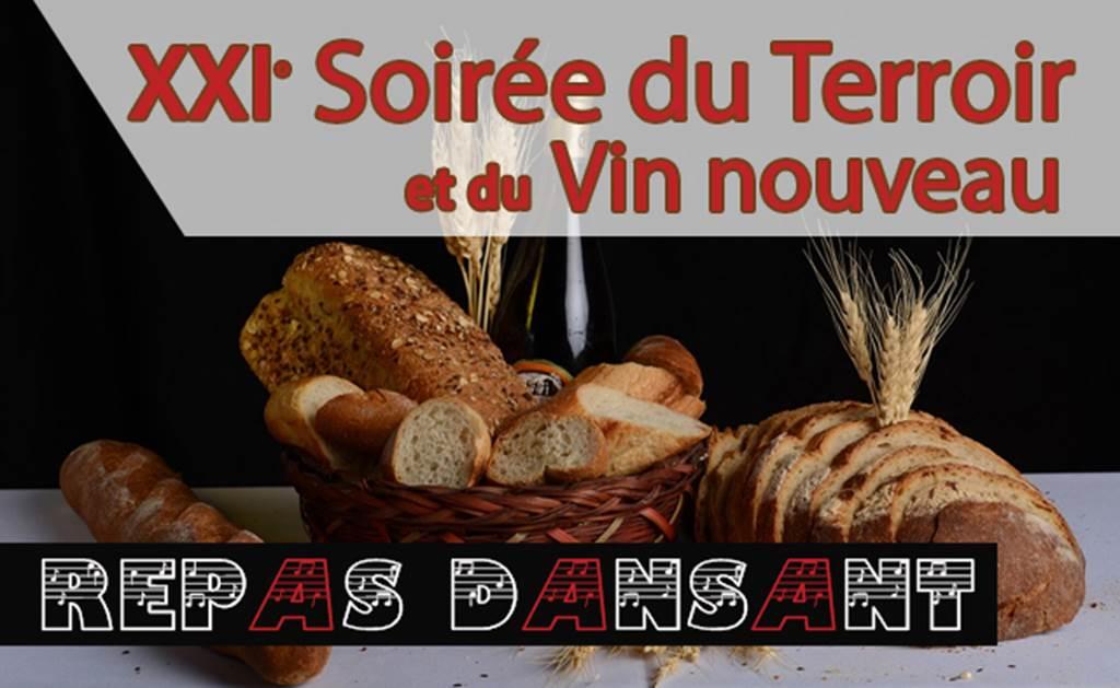 Repas du terroir et du vin nouveau - 19h30