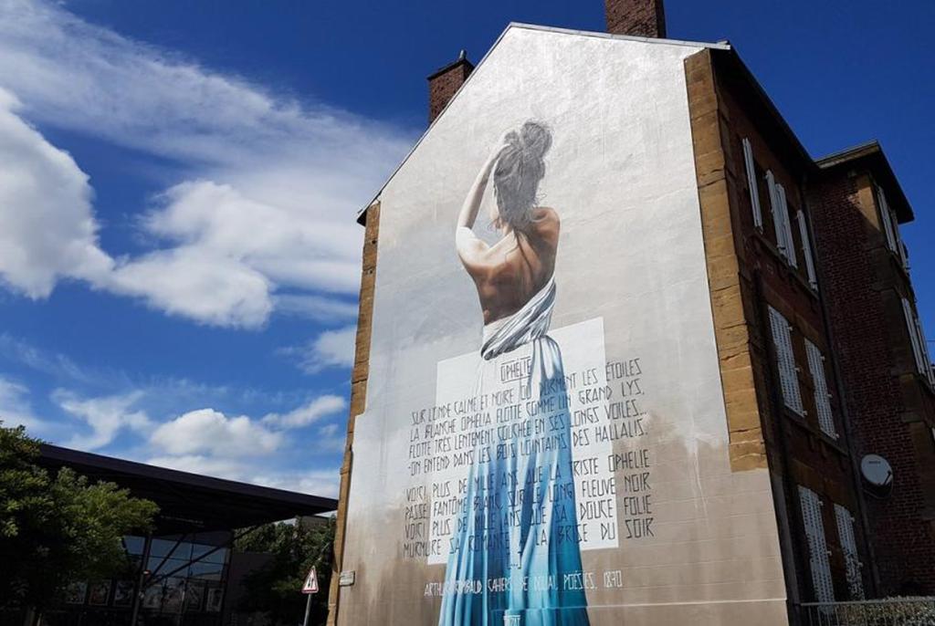Visite guidée ville d'art et histoire: Les fresques du parcours Rimbaud