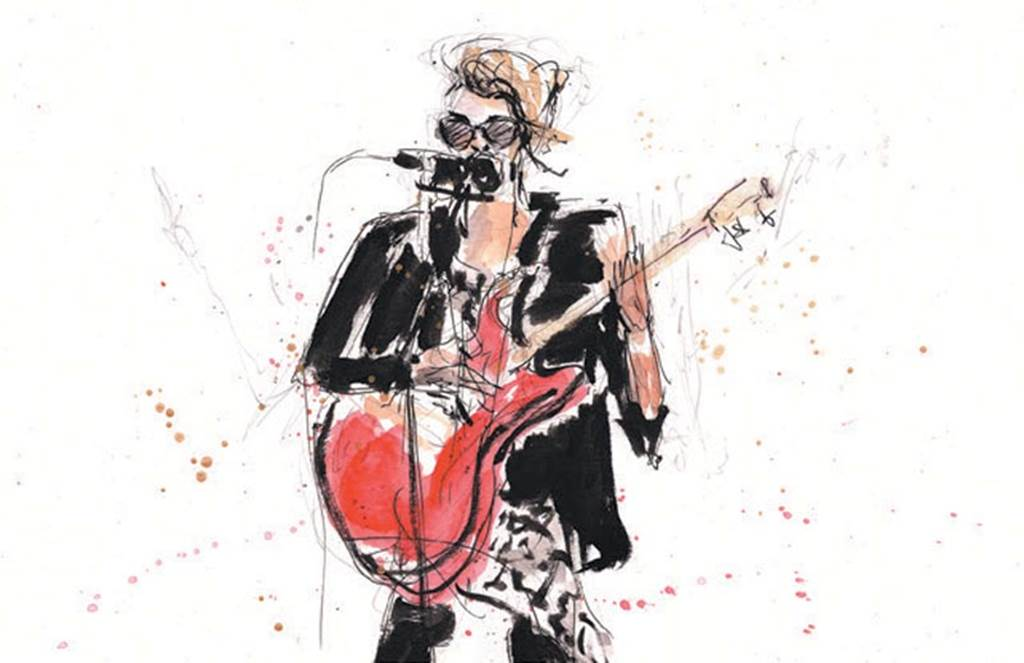 Image Exposition Lydiane Ferreri - Live drawing Dessin