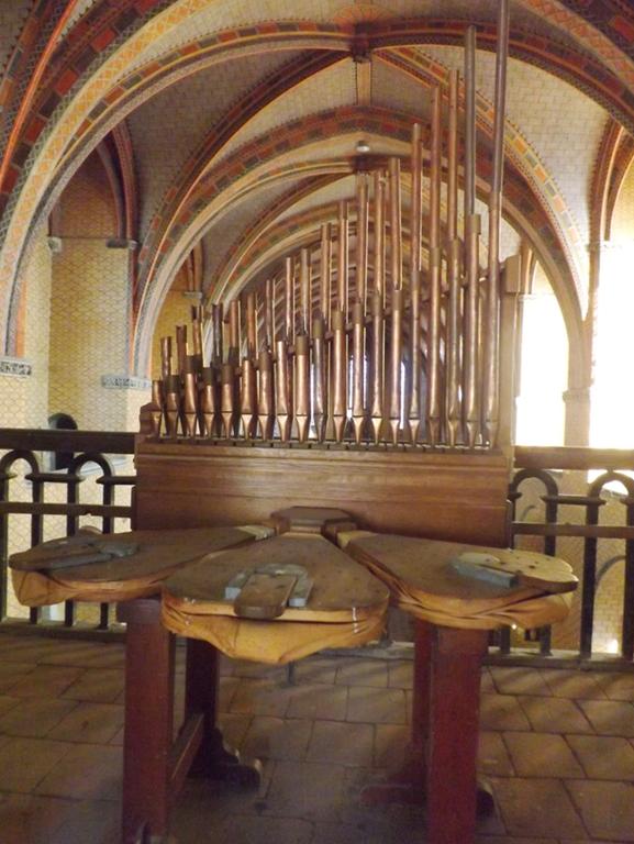 Un petit orgue bien caché