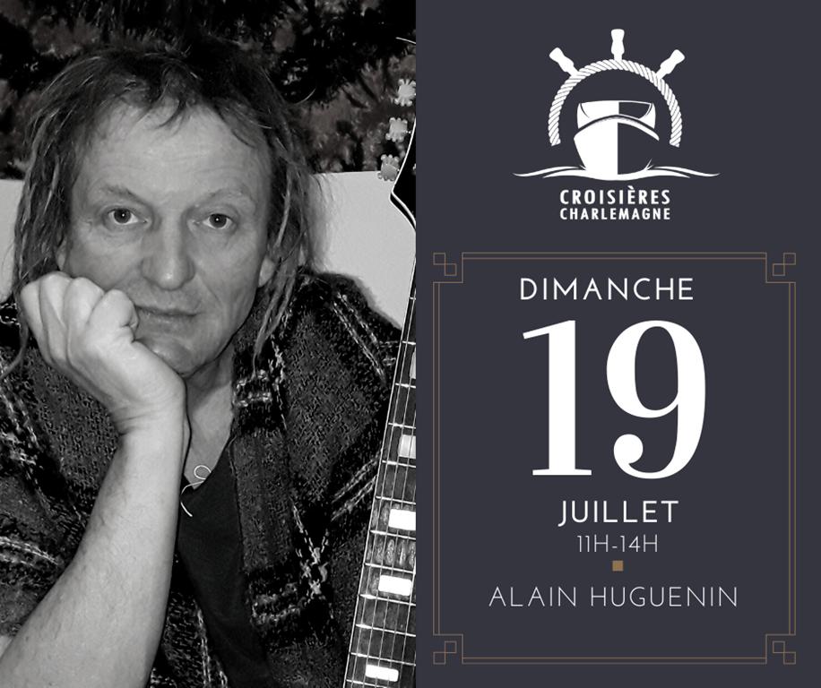 Croisière-repas avec Alain Huguenin