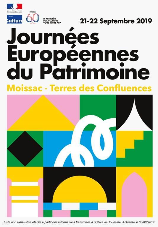 Journées Européennes du Patrimoine en Terres des Confluences