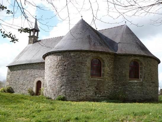 Chapelle-Saint-Philibert-Gourin-Morbihan-Bretagne-Sud © OTPRM