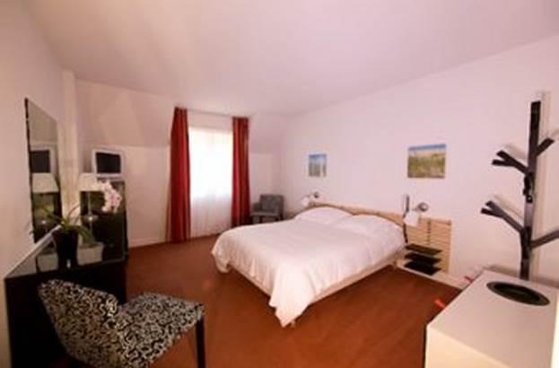 Vue-Chambre-Hôtel-Le-Crouesty-Arzon-Presqu'île-de-Rhuys-Golfe-du-Morbihan-Bretagne sud © Hôtel Le Crouesty