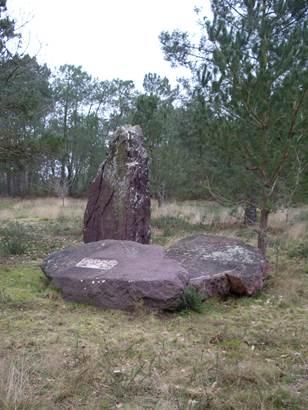 Les pierres maudites © Office de Tourisme du Pays de Mauron