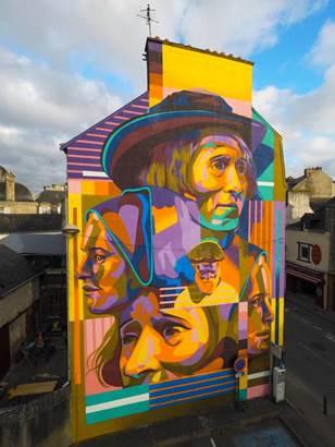 street art avenue © découvrir vannes par le street art-centre ville-golfe du morbihan-bretagne sud